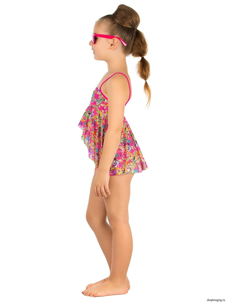 cd3bd8cd0a7f9 Пляжный комплект для девочек (топ+плавки) GPQ 031602 AF Harriet ...